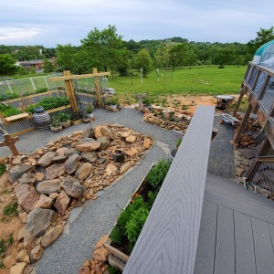 2020-05-27 Raised Bed - Paths - Rock Garden Progress